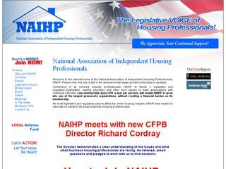 National Association of Independent Housing Professionals  NAIHP